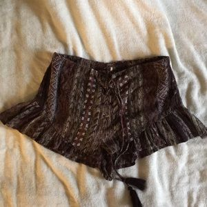 Free people shorts size 6 nwot